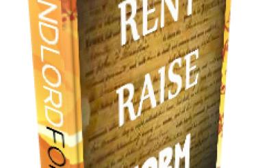Notice to increase rent california